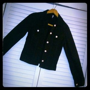 Cute , Black Jean Jacket